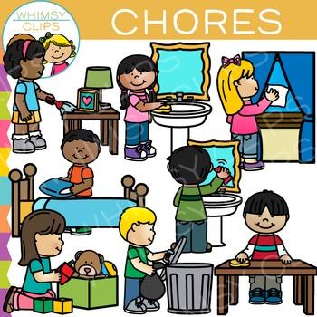 Chores Clip Art