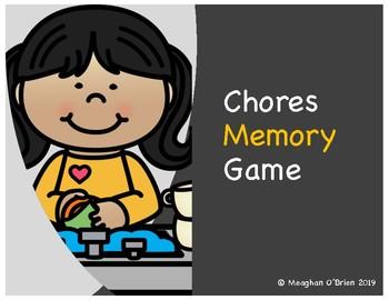 Chores Memory Game