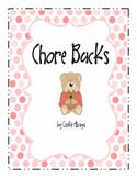 Chores Scheduler - Chore Bucks System - For developing Mat