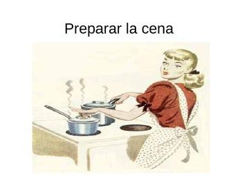 Chores Vocabulary, Expresate Chapter 1, Spanish 2