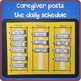 Chores and Personal Responsibilities: Word-Based Visual Schedule for Readers