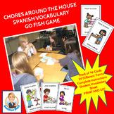 Chores around the House Spanish Go Fish Game