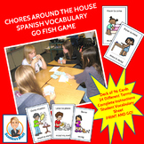 Chores around the House Spanish Go Fish Game