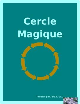 Travaux domestiques (Chores in French) Cercle magique