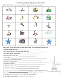 Chores vocabulary, house vocabulary in French