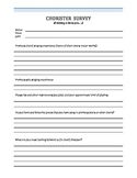 Chorister Survey