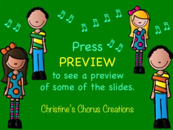 Chorus Concert Day Checklist ♫ Power Point Version
