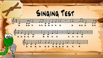 Chorus Karate Brown Belt - Music Intervals & Vocal Exploration Music Lesson Plan