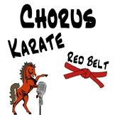 Chorus Karate - Red Belt - Singing Lessons & Vocal Exploration