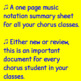 Chorus Music Basics BUNDLE ♫