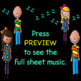 Chorus Number Warm-up 1, 121, 12321, etc. + Solfege Melody Line Sheet Music