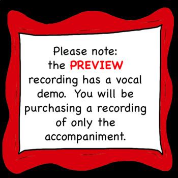 Chorus Posture Song mp3 Sing-a-long Accompaniment ♫ ♫ ♫