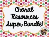 NEW! Choir Resources Super Bundle for your Choral Program!