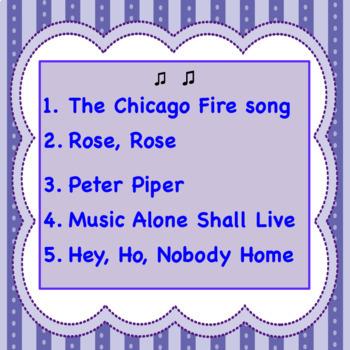 Chorus Classic Rounds ♫
