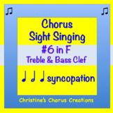 Chorus Sight Singing #6 in F