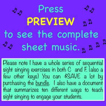 Chorus Sight Singing #1 in Eb