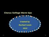 Chorus Solfege Warm Ups