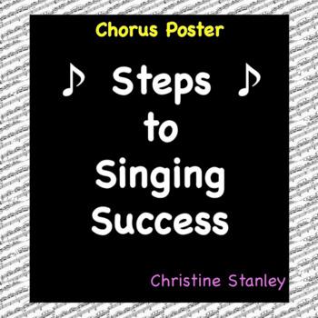 Chorus Steps to Singing Success ♫ Poster