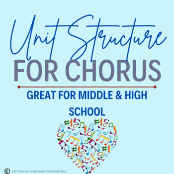 Chorus Unit Structure for School Year