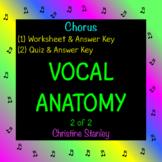 VOCAL ANATOMY WORKSHEET (2 of 2) Includes worksheet, quiz