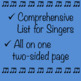 Chorus Vocabulary List ♫