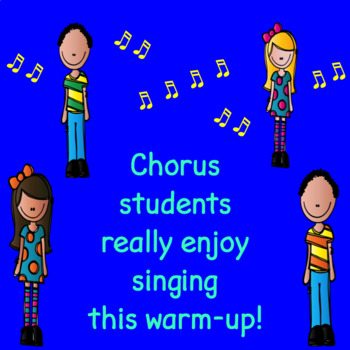 Chorus Warm-up Bubble Gum - Accompanist Sheet Music Version