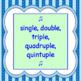 Bubble Gum Chorus Warm-up - Melody Line ♫ Sheet Music