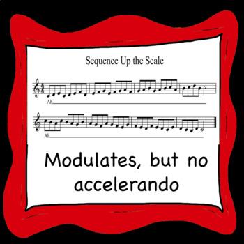 Chorus Warm-up Sequence Up the Scale .mp3 Trax - NO ACCELERANDO Accompaniment