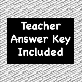 Reading a Choral Octavo Chorus Worksheet (+ Answer Key)