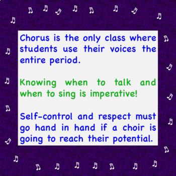 Chorus Worksheet:  ♪ Chorus is a Performance Class! (+Answer Key)