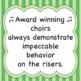Riser Rules Chorus Worksheet   ♫  ♫  ♫  (+Answer Key)