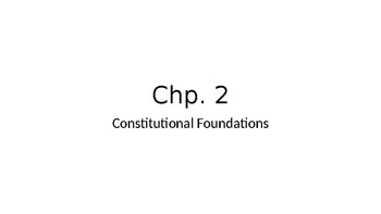 Chp. 2 Barron's AP Gov review book PPT