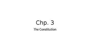 Chp. 3 PPT AP Gov (Barron's)