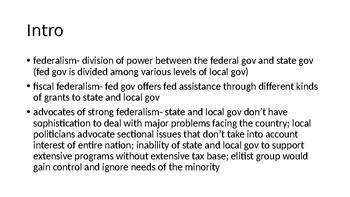 Chp. 4 PPT Barron's AP US Gov and Politics
