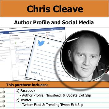 Chris Cleave - Author Study - Profile and Social Media