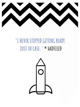 Chris Hadfield STEM Growth Mindset Poster - Astronaut - Space -