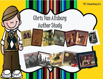 Chris Van Allsburg Author Study- Writing Based