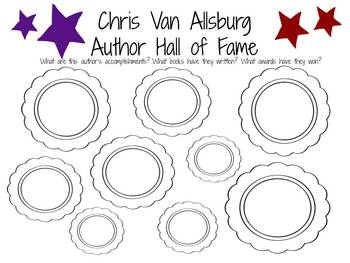 Chris Van Allsburg: Author Study