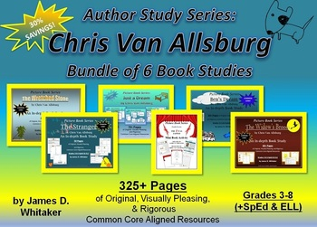 Chris Van Allsburg Author Study Bundle