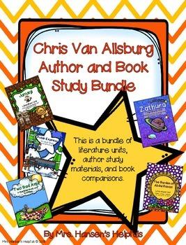 Chris Van Allsburg Author and Book Study Bundle