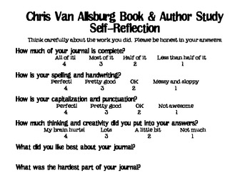 Chris Van Allsburg Book & Author Study