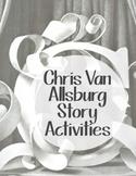 Chris Van Allsburg Book Study Activities