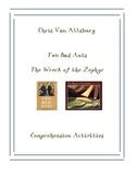 Chris Van Allsburg Comprehension Worksheets