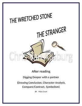 Chris Van Allsburg:  Digging Deeper into THE STRANGER and THE WRETCHED STON
