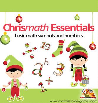 Chrismath Essentials: Basic Math Symbols and Numbers {Math Clipart}