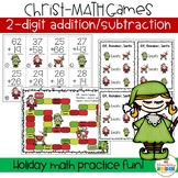 Christ-MATH Card games ~ addition and subtraction math gam