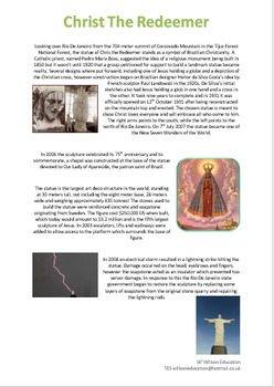 Christ The Redeemer, Brazil - Case Study
