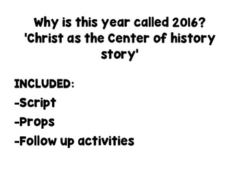 Christ as the center of history story