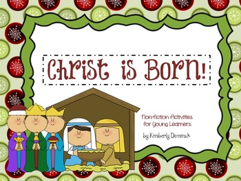 Christ is Born!: Non-Fiction Activities for Young Learners