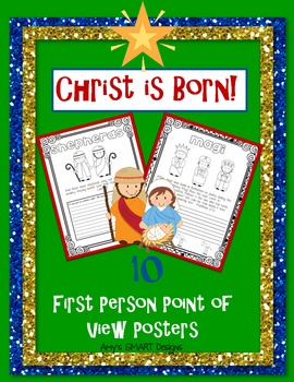 Christ is Born Point of View Posters